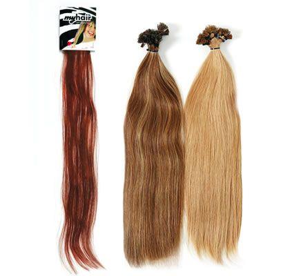 Gyakorló haj keratinnal 40-50 cm