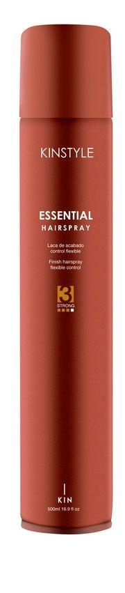 Parfümös 4:1-ben hajlakk erős tartással KINSTYLE Essential Hair spray