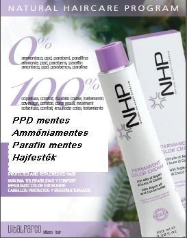 Vital NHP PPD parafin és ammóniamentes hajfesték kezdő csomag