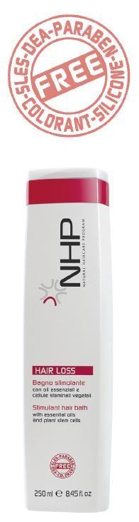 SLS mentes bio sampon haj fürdő hajhullásra NHP Stimulant