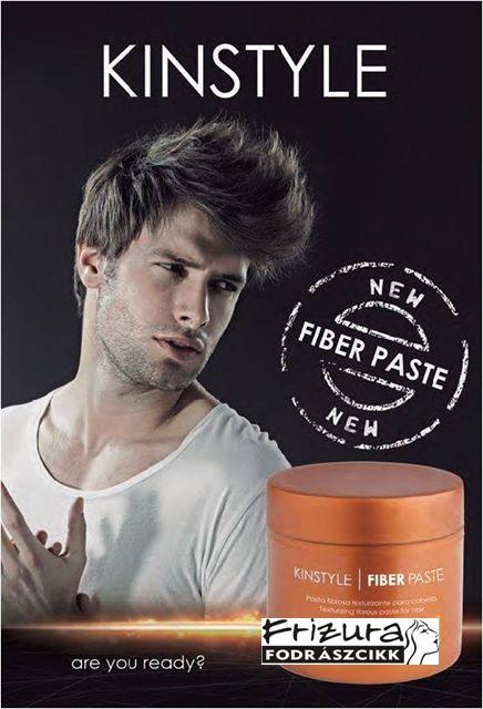 Parfümös 4:1-ben Hajformázó rostos paszta Fiber Paste KINSTYLE