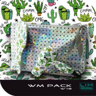 Design mini hajszárító szett LIM-HAIR Cactus