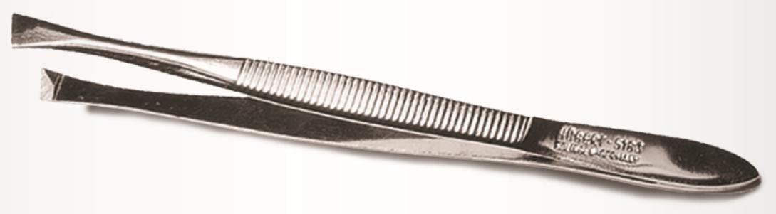 Szemöldökcsipesz széles ferde élű Solingen 9cm 20583