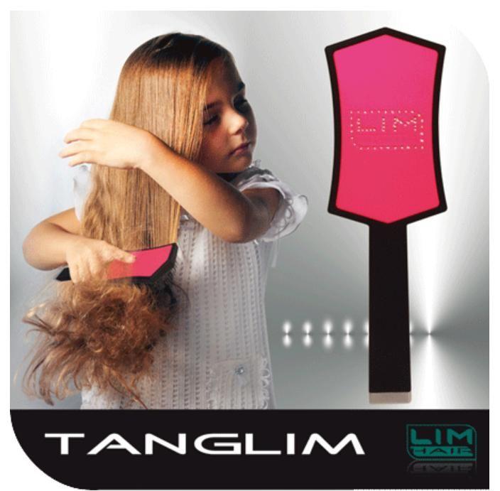 Hajkisimító és szuper hajbontó kefe TANGLIM