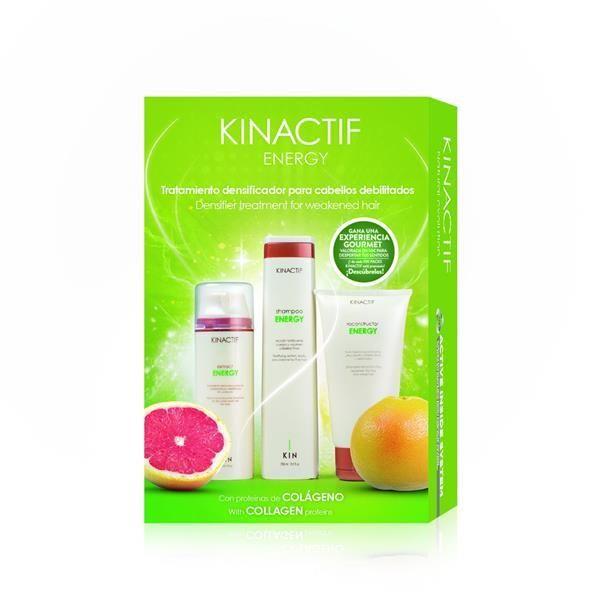Hajbotox csomag kollagénes hajerősítő kezeléshez Kinactif Energy