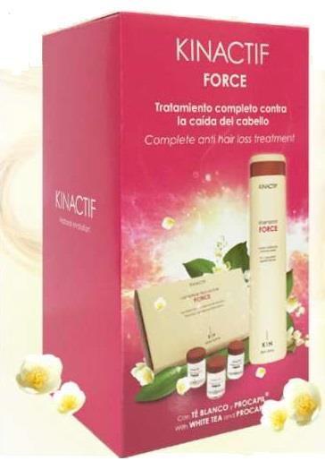 Sokkterápia csomag hajhullás ellen Kinactif Force