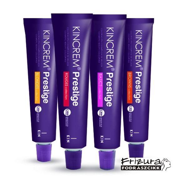 Kicream Prestige Kezdő hajfesték csomag ajándékkal